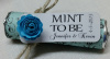 "Set of 24 mint rolls - ""Mint to be"" favors with personalized tag"