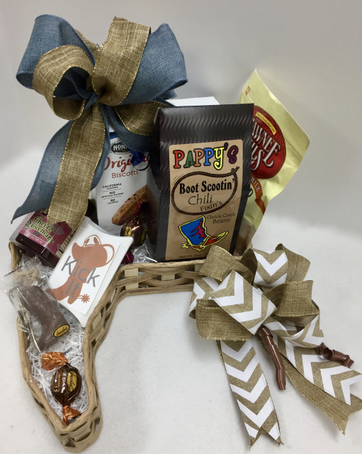 Boot Scootin' Chili Gift Basket