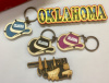 Oklahoma Cowboy Hat Key Chain